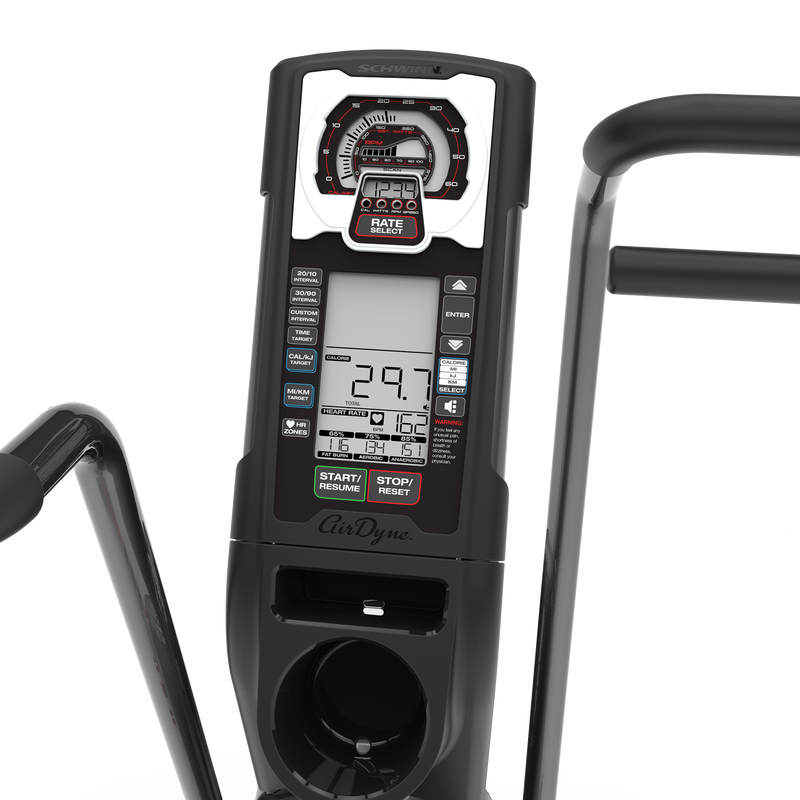 Schwinn Airdyne AD7 Console - expanded view