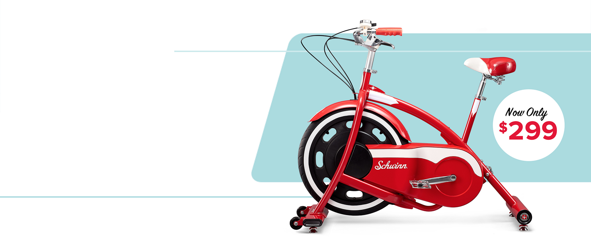 Classic Cruiser exercise bike - now only $299