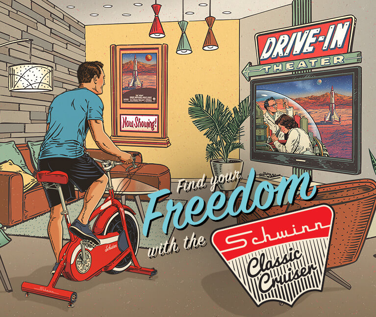 Find your Freedom with the Schwinn Classic Cruiser